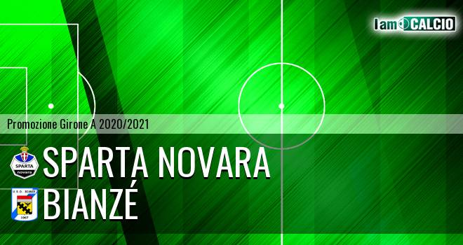 Sparta Novara - Bianzé