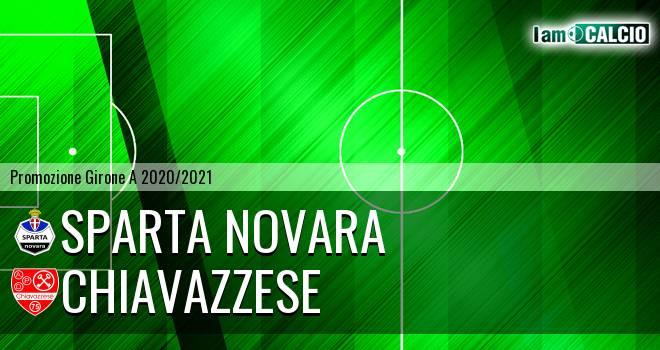 Sparta Novara - Chiavazzese