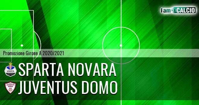 Sparta Novara - Juventus Domo