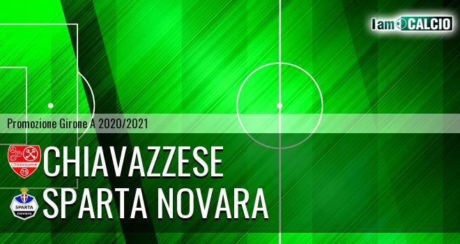 Chiavazzese - Sparta Novara