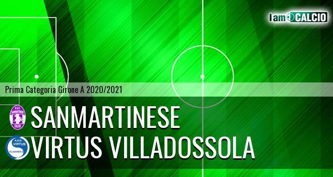 Sanmartinese - Virtus Villadossola