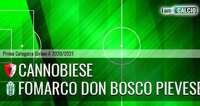 Cannobiese - Fomarco Don Bosco Pievese