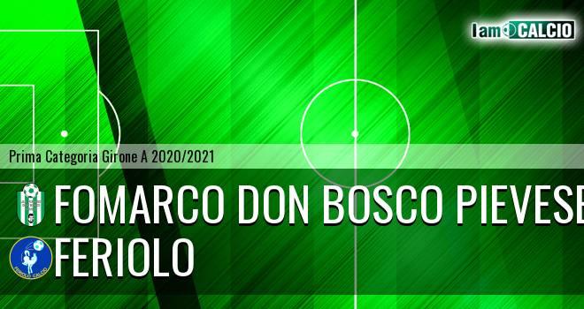 Fomarco Don Bosco Pievese - Feriolo