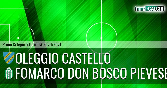 Oleggio Castello - Fomarco Don Bosco Pievese