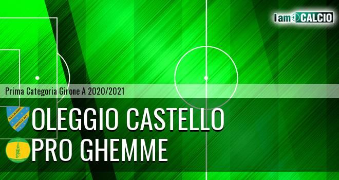 Oleggio Castello - Pro Ghemme