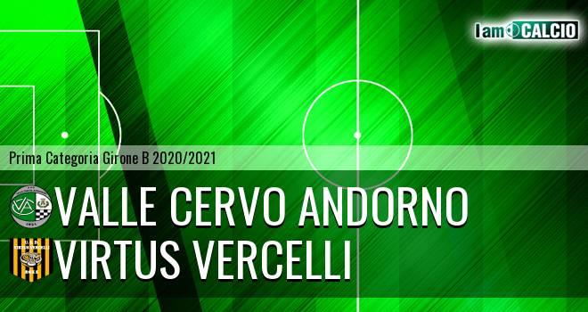 Valle Cervo Andorno - Virtus Vercelli