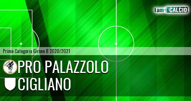 Pro Palazzolo - Cigliano