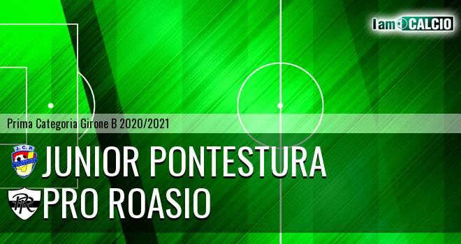 Junior Pontestura - Pro Roasio