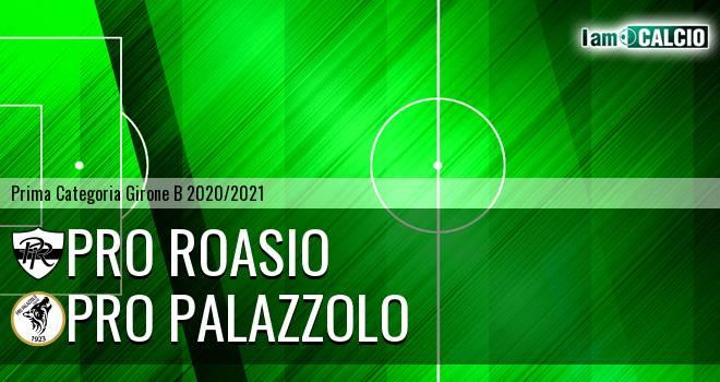 Pro Roasio - Pro Palazzolo