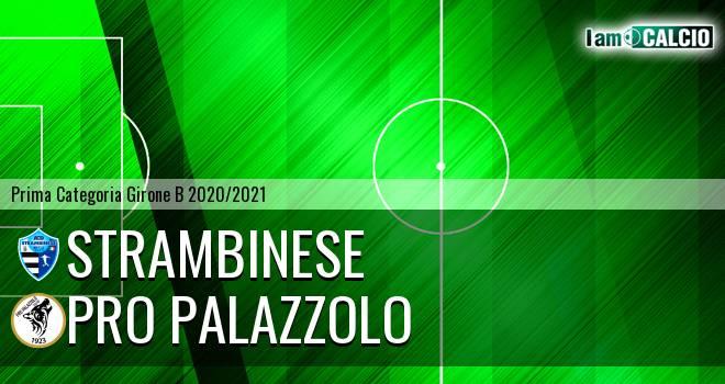 Strambinese - Pro Palazzolo