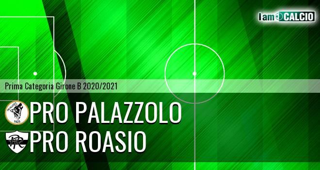 Pro Palazzolo - Pro Roasio