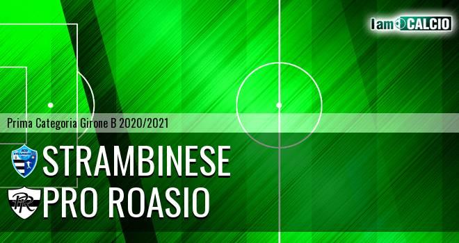 Strambinese - Pro Roasio