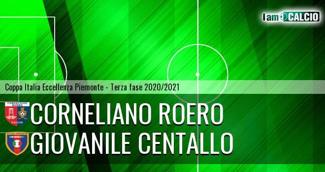 Corneliano Roero - Giovanile Centallo