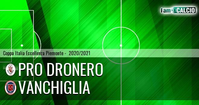 Pro Dronero - Vanchiglia