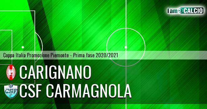Carignano - Csf Carmagnola