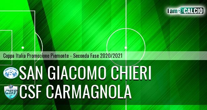 San Giacomo Chieri - Csf Carmagnola
