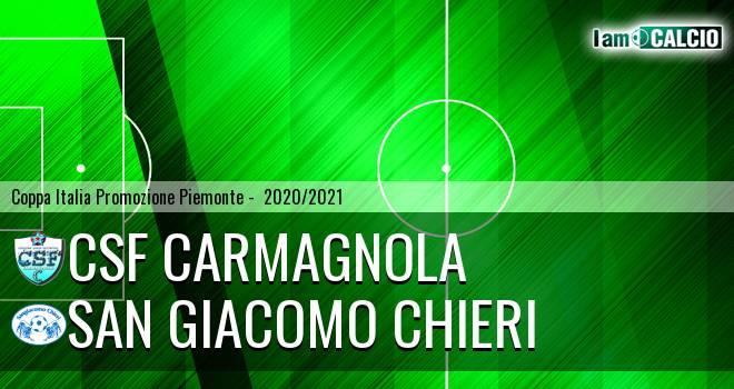 Csf Carmagnola - San Giacomo Chieri