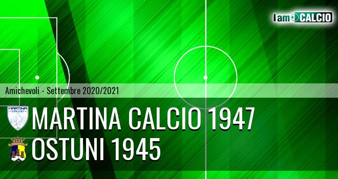 Martina Calcio 1947 - Ostuni 1945