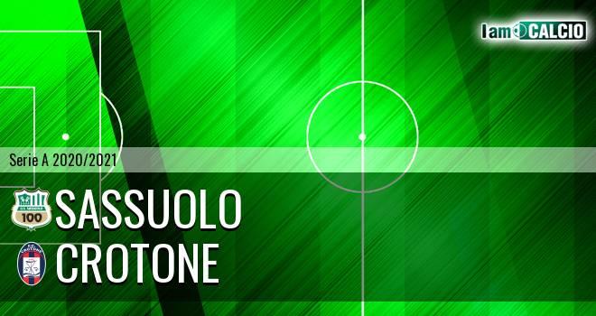 Sassuolo - Crotone