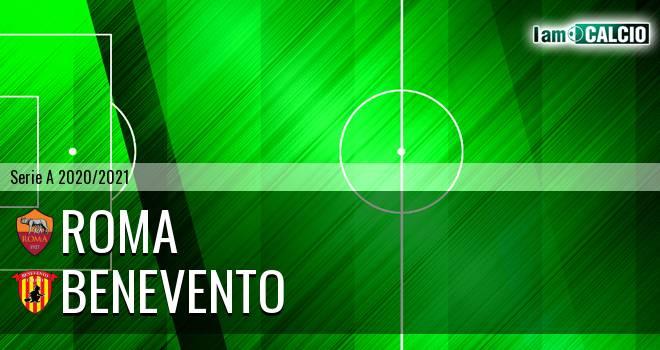 Roma - Benevento 5-2. Cronaca Diretta 18/10/2020