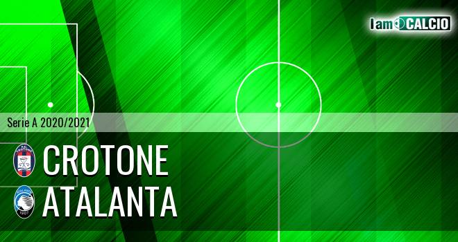 Crotone - Atalanta 1-2. Cronaca Diretta 31/10/2020