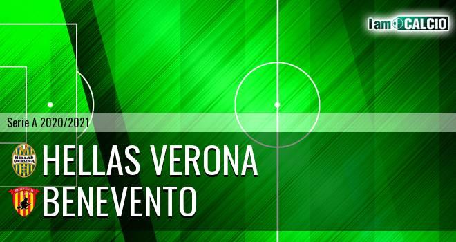 Hellas Verona - Benevento 3-1. Cronaca Diretta 02/11/2020