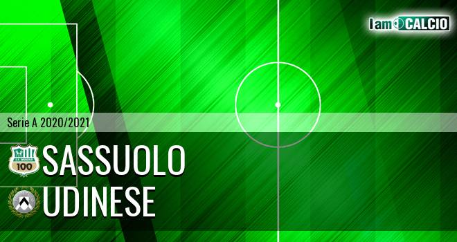 Sassuolo - Udinese - Serie A 2020 - 2021