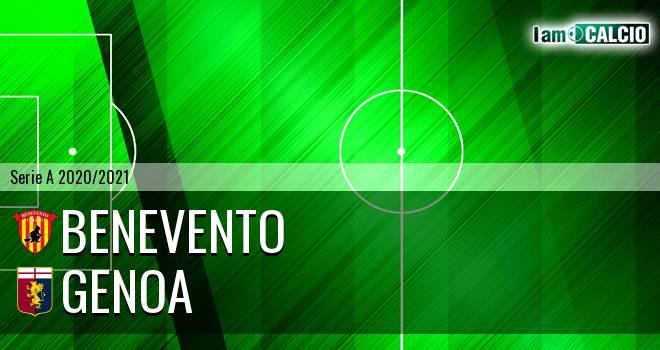 Benevento - Genoa 2-0. Cronaca Diretta 20/12/2020