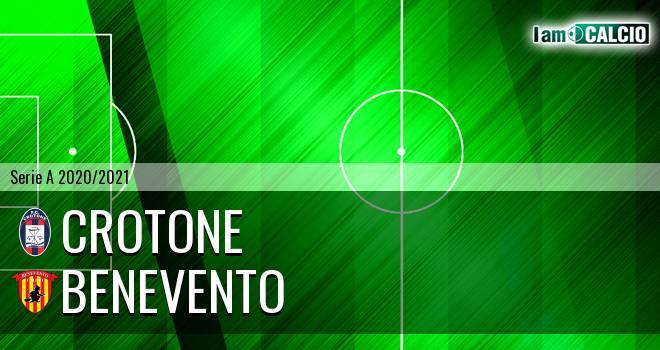 Crotone - Benevento 4-1. Cronaca Diretta 17/01/2021