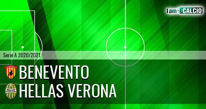 Benevento - Hellas Verona 0-3. Cronaca Diretta 03/03/2021