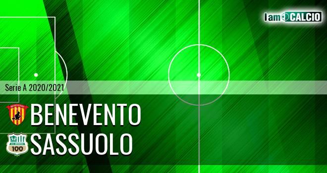 Benevento - Sassuolo 0-1. Cronaca Diretta 12/04/2021