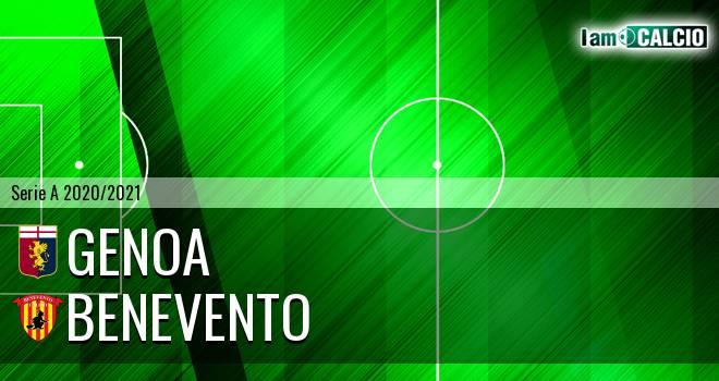 Genoa - Benevento 2-2. Cronaca Diretta 21/04/2021