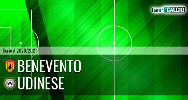 Benevento - Udinese 2-4. Cronaca Diretta 25/04/2021