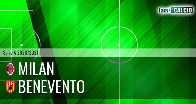 Milan - Benevento 2-0. Cronaca Diretta 01/05/2021
