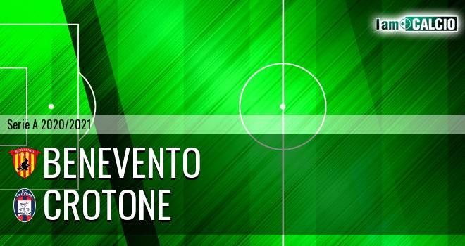 Benevento - Crotone 1-1. Cronaca Diretta 16/05/2021