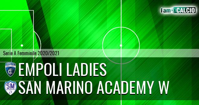 Empoli Ladies - San Marino Academy W