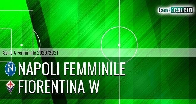 Napoli Femminile - Fiorentina W