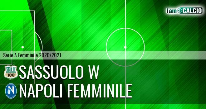 Sassuolo W - Napoli Femminile