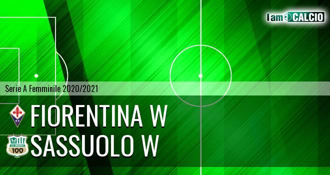 Fiorentina W - Sassuolo W