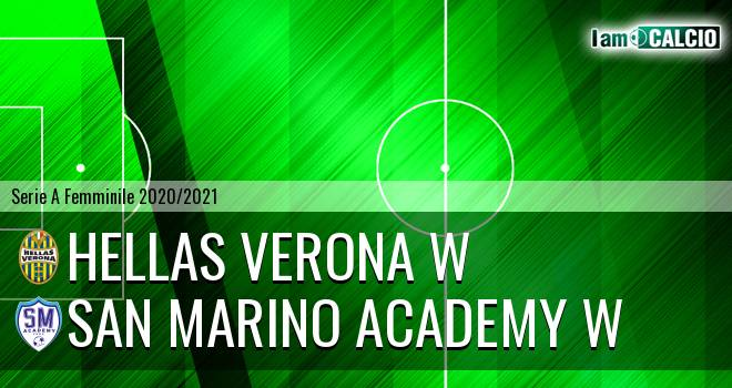 Hellas Verona W - San Marino Academy W