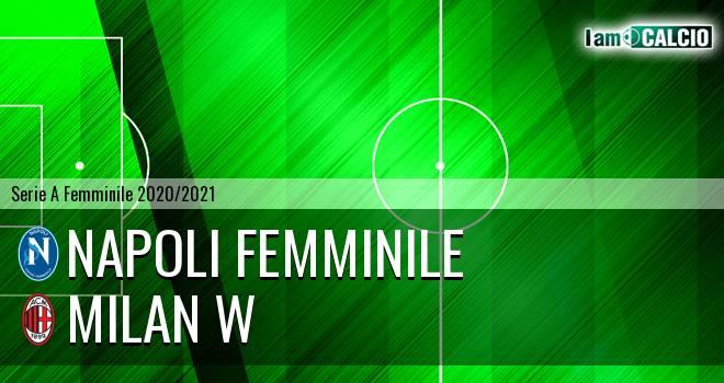 Napoli Femminile - Milan W