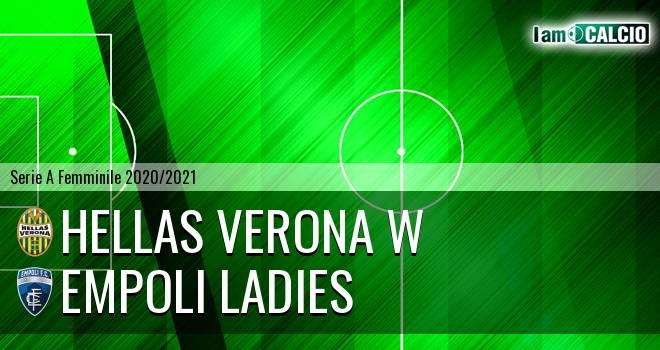 Hellas Verona W - Empoli Ladies