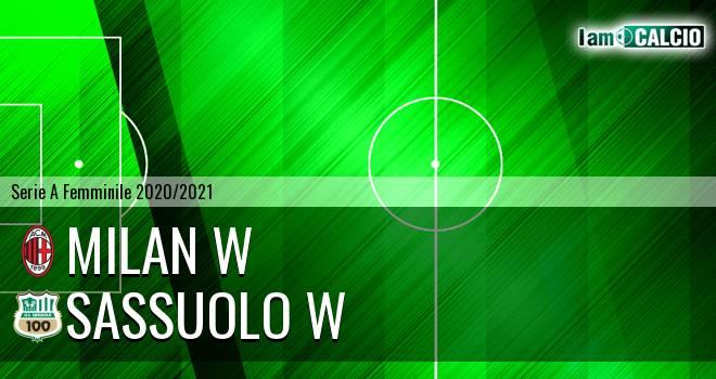 Milan W - Sassuolo W