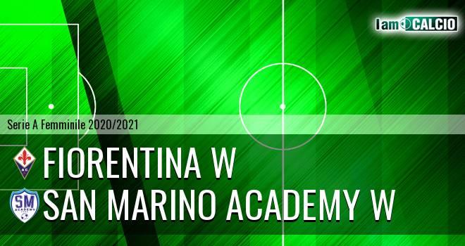 Fiorentina W - San Marino Academy W