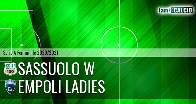 Sassuolo W - Empoli Ladies