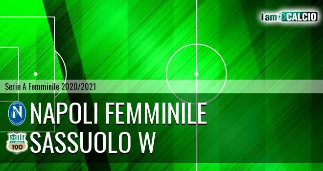 Napoli Femminile - Sassuolo W