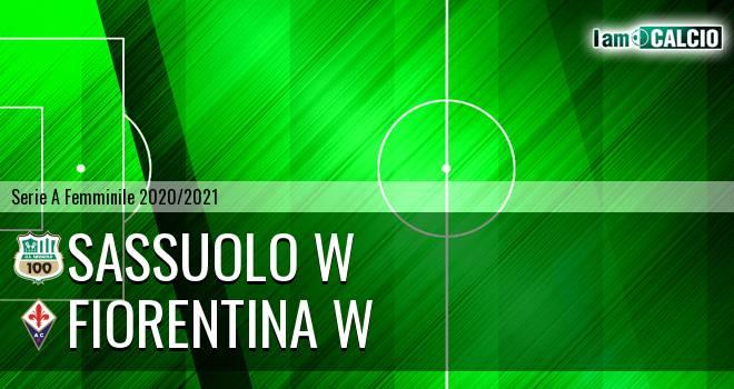 Sassuolo W - Fiorentina W
