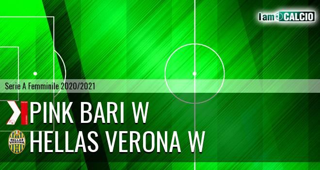 Pink Bari W - Hellas Verona W