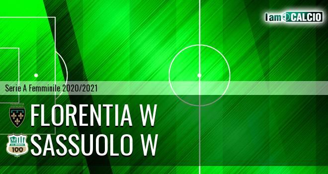 Florentia W - Sassuolo W