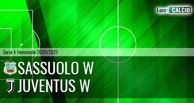 Sassuolo W - Juventus W